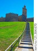 Купить «Avila Spain Medieval Walls and Towers.», фото № 21304670, снято 22 сентября 2015 г. (c) age Fotostock / Фотобанк Лори