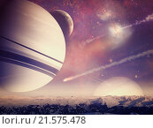 Купить «Alien worlds. Universe. Abstract science backgrounds. NASA imagery used.», фото № 21575478, снято 23 июня 2012 г. (c) easy Fotostock / Фотобанк Лори