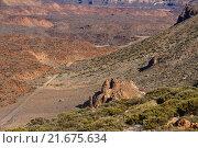 Тенерифе. Окрестности вулкана Тейде. Стоковое фото, фотограф Минаева Вера / Фотобанк Лори