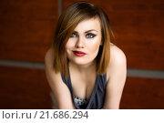 Портрет красивой сексуальной женщины. Стоковое фото, фотограф Эльвира Гумирова / Фотобанк Лори