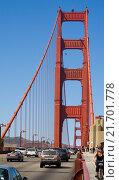 Купить «San Francisco Golden Gate», фото № 21701778, снято 6 сентября 2007 г. (c) Caro Photoagency / Фотобанк Лори