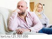 Купить «Family quarrel», фото № 21707050, снято 20 ноября 2018 г. (c) Яков Филимонов / Фотобанк Лори