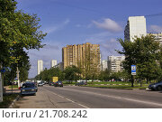 Купить «Москва, Коровинское шоссе, 2008 год», фото № 21708242, снято 13 сентября 2008 г. (c) Илюхина Наталья / Фотобанк Лори
