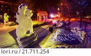 Ледяной город (2016 год). Редакционное фото, фотограф Евгений Рухмалев / Фотобанк Лори