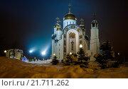 Храм Вознесения Господня (2016 год). Стоковое фото, фотограф Евгений Рухмалев / Фотобанк Лори