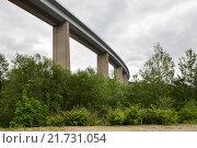 Купить «Siegen, Germany, Siegtalbruecke the A45 near Siegen», фото № 21731054, снято 27 мая 2015 г. (c) Caro Photoagency / Фотобанк Лори