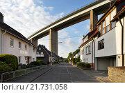 Купить «Siegen, Germany, Siegtalbruecke the A45 near Siegen», фото № 21731058, снято 27 мая 2015 г. (c) Caro Photoagency / Фотобанк Лори