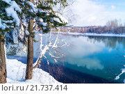Ранняя весна на речке. Стоковое фото, фотограф Светлана Швенк / Фотобанк Лори