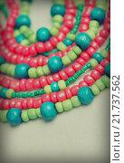 Купить «Colored glass beads», фото № 21737562, снято 30 сентября 2015 г. (c) Типляшина Евгения / Фотобанк Лори