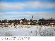 Александрова слобода в зимний солнечный день. Стоковое фото, фотограф Валерий Шевцов / Фотобанк Лори