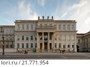 Berlin, Germany, the Crown Prince's Palace, or Palais Unter den Linden (2010 год). Редакционное фото, агентство Caro Photoagency / Фотобанк Лори
