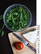 Салат. Стоковое фото, фотограф Ania Alabusheva / Фотобанк Лори