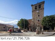 Купить «Almarza, Spain, Church of Santa Lucia», фото № 21796726, снято 13 августа 2010 г. (c) Caro Photoagency / Фотобанк Лори