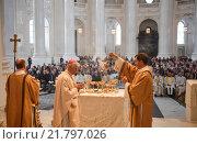 Купить «St. Blasien, Germany, ordination in the Cathedral of St. Blaise», фото № 21797026, снято 22 ноября 2015 г. (c) Caro Photoagency / Фотобанк Лори