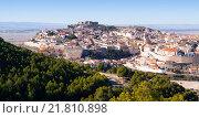 Chinchilla de Monte-Aragon from hill (2014 год). Стоковое фото, фотограф Яков Филимонов / Фотобанк Лори
