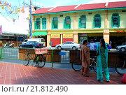 Сингапур на улочках маленькой Индии (2010 год). Редакционное фото, фотограф Кондратьев Андрей Борисович / Фотобанк Лори