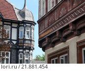 Купить «architecture facade frame work oriel», фото № 21881454, снято 23 мая 2019 г. (c) PantherMedia / Фотобанк Лори