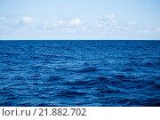 Купить «Sky and blue sea», фото № 21882702, снято 19 декабря 2018 г. (c) PantherMedia / Фотобанк Лори