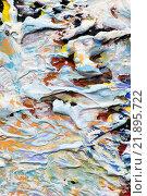 Купить «Цветной рельеф краски», фото № 21895722, снято 12 ноября 2014 г. (c) Elizaveta Kharicheva / Фотобанк Лори