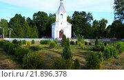 Купить «Holy Assumption Church in Rechitsa, Belarus», видеоролик № 21896378, снято 27 декабря 2015 г. (c) BestPhotoStudio / Фотобанк Лори