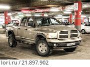 Купить «Dodge Ram 1500», фото № 21897902, снято 7 февраля 2016 г. (c) Art Konovalov / Фотобанк Лори