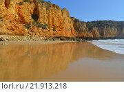 Скалы Атлантического океана, Португалия. Стоковое фото, фотограф Калинина Наталья / Фотобанк Лори