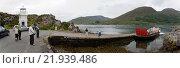 Glenelg, the UK, the car ferry shuttles between Glenelg and Kylehea (2011 год). Редакционное фото, агентство Caro Photoagency / Фотобанк Лори