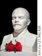Купить «Бюст Владимира Ильича Ленина», фото № 21942826, снято 26 февраля 2016 г. (c) Татьяна Белова / Фотобанк Лори