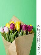 Цветы, завернутые в бумагу. Стоковое фото, фотограф Афанасьева Ольга / Фотобанк Лори