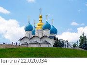 Благовещенский собор в Кремле. Казань (2014 год). Редакционное фото, фотограф Антон Кутлубаев / Фотобанк Лори