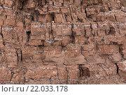 Каменная стена. Стоковое фото, фотограф Евгений Захаров / Фотобанк Лори
