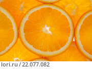 Купить «Фон: Дольки апельсина», фото № 22077082, снято 27 февраля 2016 г. (c) Литвяк Игорь / Фотобанк Лори