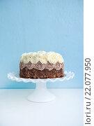 Торт на подставке. Стоковое фото, фотограф Елена Поминова / Фотобанк Лори