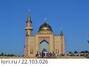 Соборная мечеть в Дзержинске (2014 год). Редакционное фото, фотограф Балашов Антон Владимирович / Фотобанк Лори