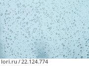 Капли воды на стекле. Стоковое фото, фотограф Сергей Блинов / Фотобанк Лори