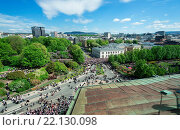 Купить «OSLO - MAY 17: Norwegian Constitution Day is the National Day of Norway and is an official national holiday observed on May 17 each year. Pictured on May 17, 2014», фото № 22130098, снято 17 мая 2014 г. (c) age Fotostock / Фотобанк Лори