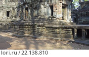 Купить «Храмы в Ангкор-Ват, Камбоджа», видеоролик № 22138810, снято 11 марта 2016 г. (c) Михаил Коханчиков / Фотобанк Лори