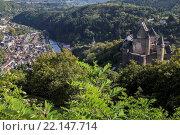 Vianden, Ardennen, Luxemburg. Vianden, Ardennes, Luxembourg. Стоковое фото, фотограф Zoonar/Thomas Lakay / age Fotostock / Фотобанк Лори