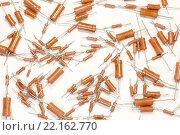 Радиоэлементы - набор резисторов. Стоковое фото, фотограф Николай Грушин / Фотобанк Лори