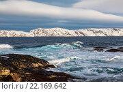 Купить «Побережье Северного Ледовитого океана», фото № 22169642, снято 11 марта 2016 г. (c) Наталья Волкова / Фотобанк Лори