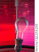 Лампа в маяке. Ладожское озеро. Стоковое фото, фотограф Василий Вострухин / Фотобанк Лори