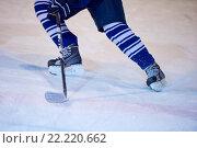 Купить «ice hockey player in action», фото № 22220662, снято 22 мая 2019 г. (c) easy Fotostock / Фотобанк Лори