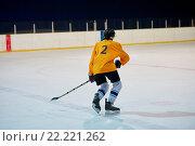 Купить «ice hockey player in action», фото № 22221262, снято 22 мая 2019 г. (c) easy Fotostock / Фотобанк Лори