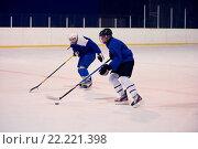 Купить «ice hockey sport players», фото № 22221398, снято 5 июня 2020 г. (c) easy Fotostock / Фотобанк Лори