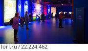 Купить «Павильон 57 ВДНХ: Рюриковичи и Романовы», фото № 22224462, снято 13 марта 2016 г. (c) Всеволод Карулин / Фотобанк Лори