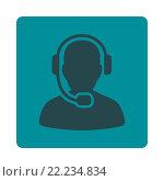 Купить «Call Center Operator Icon», фото № 22234834, снято 14 ноября 2018 г. (c) easy Fotostock / Фотобанк Лори