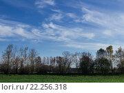 Купить «Blue sky and clouds», фото № 22256318, снято 17 декабря 2018 г. (c) PantherMedia / Фотобанк Лори