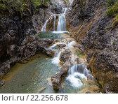 Купить «waterfall austrians tyrol sterreich reutte», фото № 22256678, снято 24 мая 2019 г. (c) PantherMedia / Фотобанк Лори