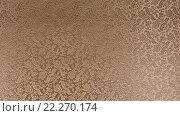 Текстура бронзовой атласной ткани с цветочные тиснением (2015 год). Редакционное фото, фотограф Евгений Захаров / Фотобанк Лори