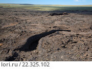 Купить «Lava flow, Jordan Craters Wilderness Study Area, Vale District Bureau of Land Management, Oregon.», фото № 22325102, снято 6 июня 2015 г. (c) age Fotostock / Фотобанк Лори